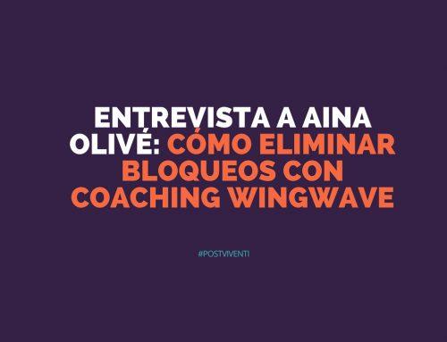 Entrevista a Aina Olivé: cómo eliminar bloqueos con coaching wingwave