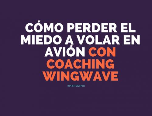 Cómo perder el miedo a volar en avión con coaching wingwave